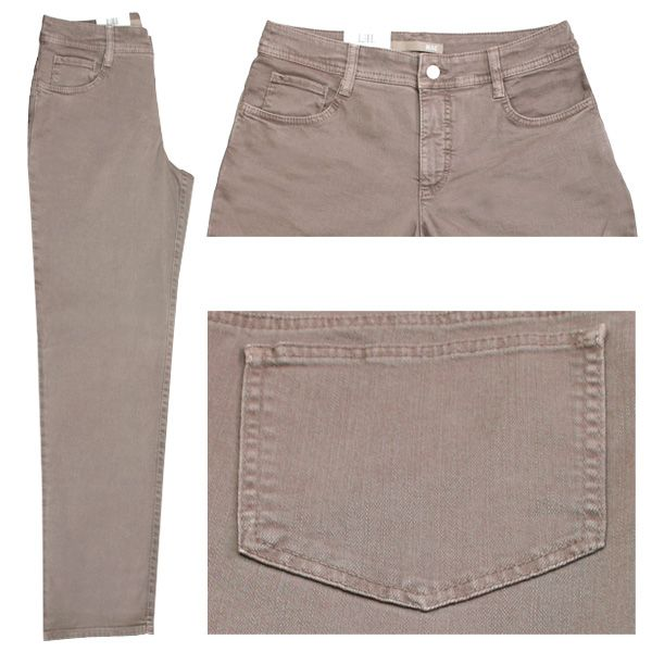 MAC Stretch Damen Jeans / Form: Gracia / Farbe: mittelbraun - FarbNr.: 270R / im MAC Jeans Online Shop