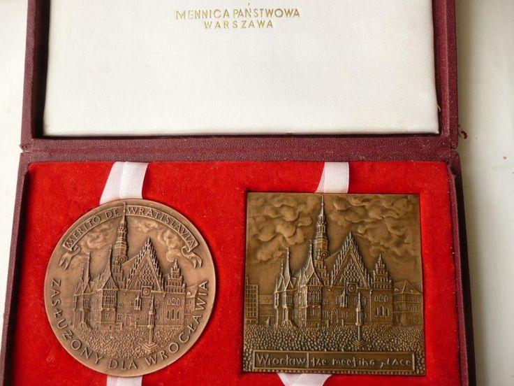 medal   plakieta Zasłużony dla WROCLAW