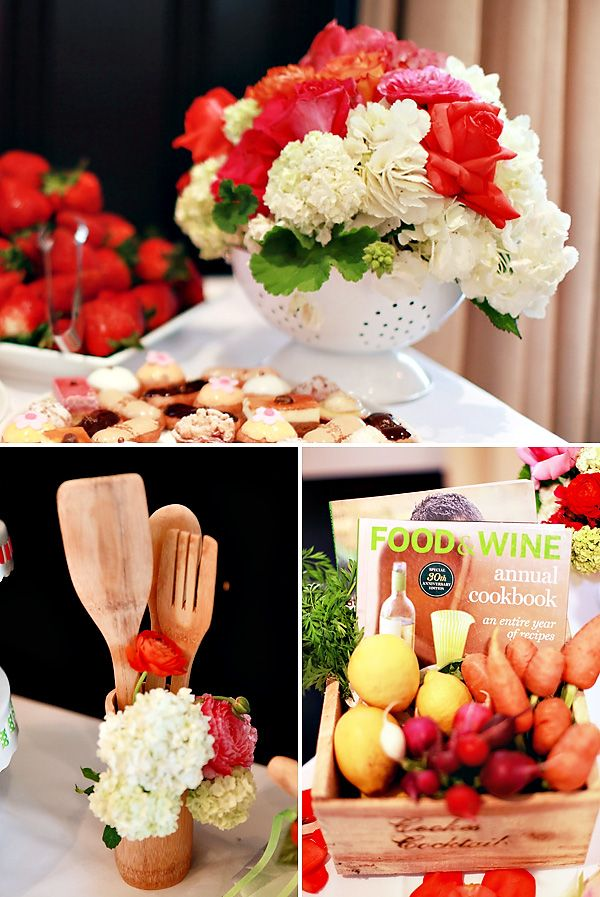 Creative Kitchen Themed Bridal Shower