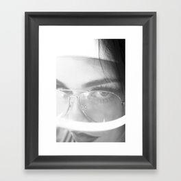 THREE PENTA THREEPENTA Fran Framed Art Print