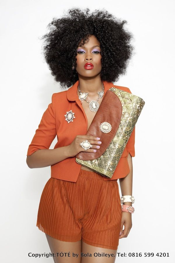 Ankara Clutch Fabulous clutch. Great outfit for work on a hot Summer