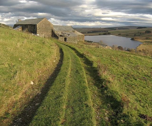 Sleddale Hall, Wet Sleddale, Cumbria Cumbria, Lake