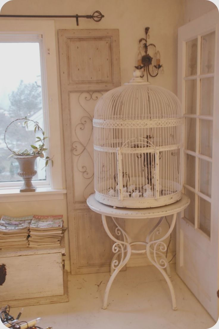 25 best ideas about vintage bird cages on pinterest bird cage decoration antique bird cages. Black Bedroom Furniture Sets. Home Design Ideas