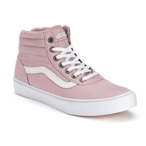 Vans Milton Women's High-Top Skate Shoes pink