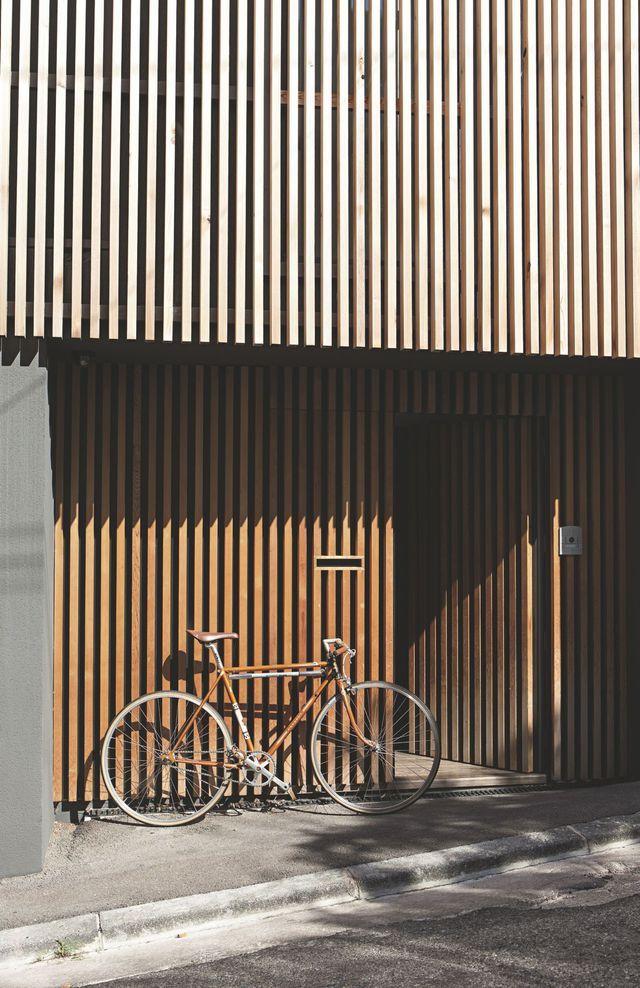 17 meilleures id es propos de blocs de bois sur for Bardage de facade maison