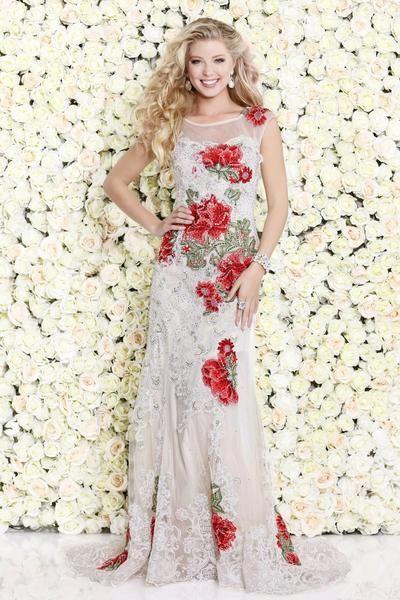 Shail K. USA Style 4092-IVORY View #shailkusa #fashion #dressoftheday #prom #ootd