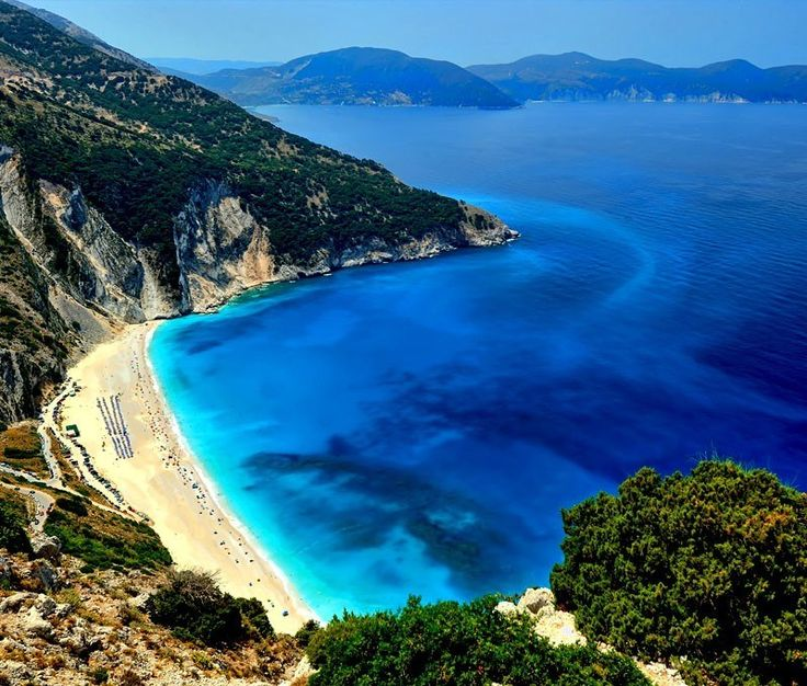 View of The Exotic Myrtos Beach in Kefalonia | 10 Top Rated Tourist Attractions In Greece