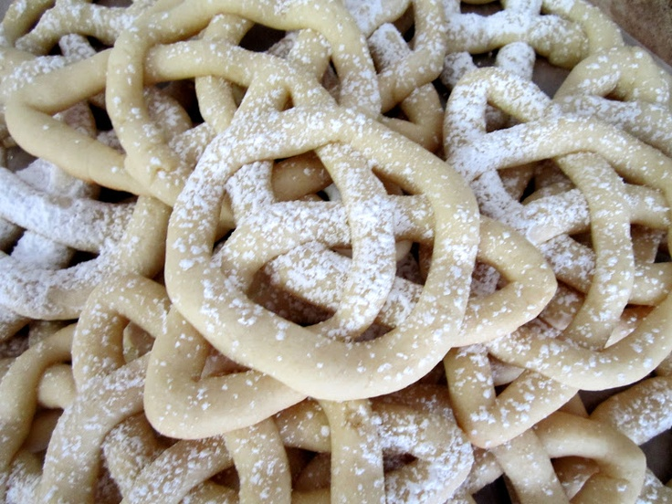 Brave - Celtic Knot Cookies. they could also be made out of soft pretzel dough.