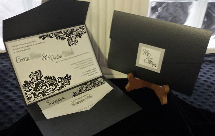 masquerade wedding invites