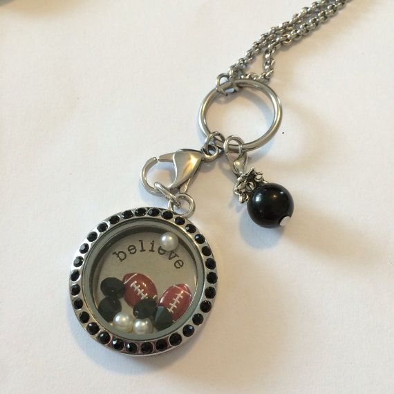 NFL RAIDERS!!! Support and cheer for your team while wearing an Expression Locket!!!