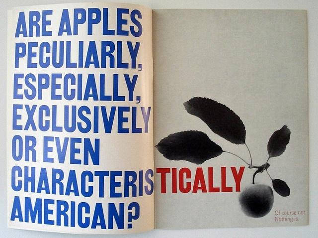 magazine spread by Gene Federico (1960)