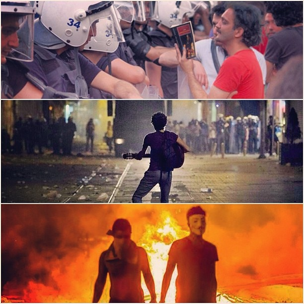 it is all about freedom nothing else matters except it! #occupygezi