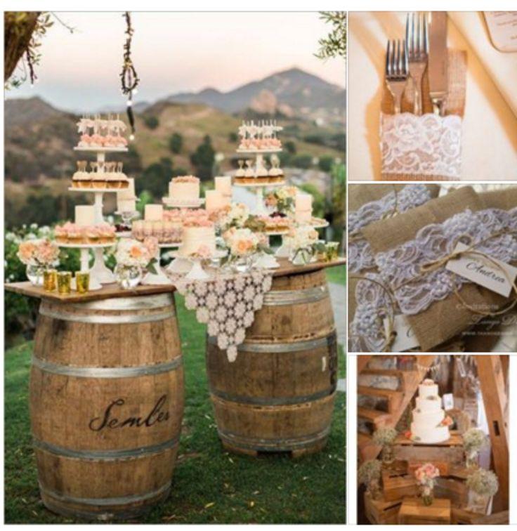 Rustic Outdoor Wedding Ideas: 156 Best RUSTIC & SHABBY Chic Wedding