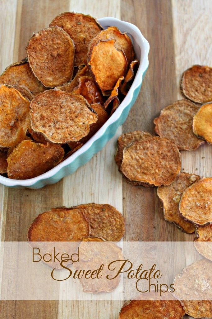 Crispy baked sweet potato chips are super easy and super nutritious!