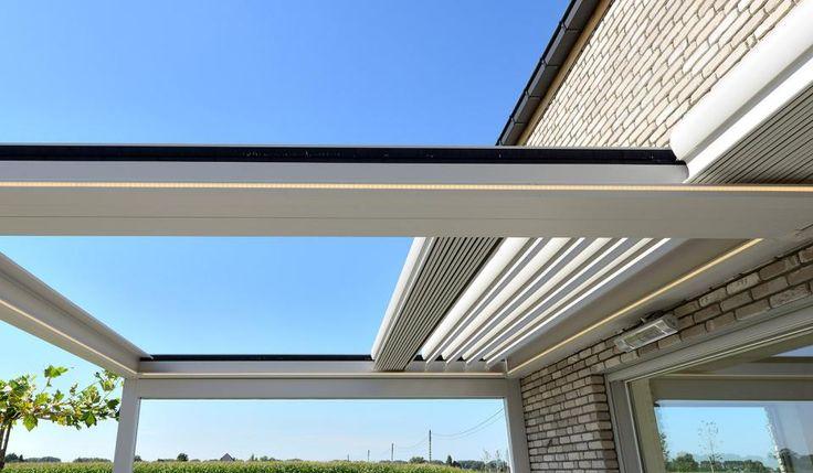 Detail Brustor B 600 terras overkapping