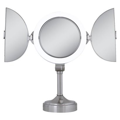 26 best battery operated makeup mirror images on pinterest battery operated vanity mirrors. Black Bedroom Furniture Sets. Home Design Ideas
