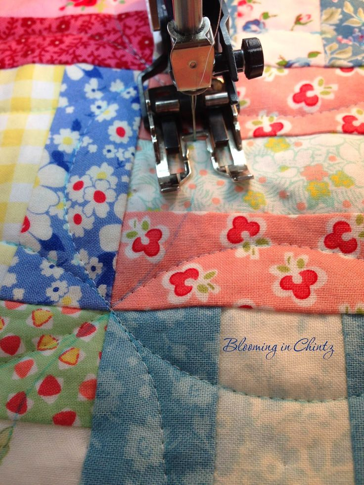 Best 25+ Walking foot quilting ideas on Pinterest | Machine ... : quilting without a sewing machine - Adamdwight.com
