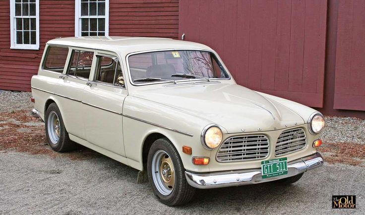 """Learn all about The Old Motor Volvo 122s """"Georgia Peach"""" Station Wagon Rebuild – Part V @ http://theoldmotor.com/?p=161723"""