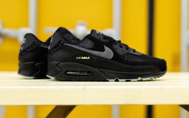 Celebrate Halloween With the Nike Air Max 90 Spider Web ...