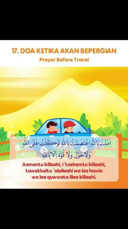 Doa Ketika Akan Kepergian
