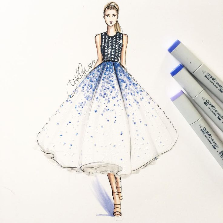 Simple Fashion Drawing Dresses Oppa Wallpapaer Korea
