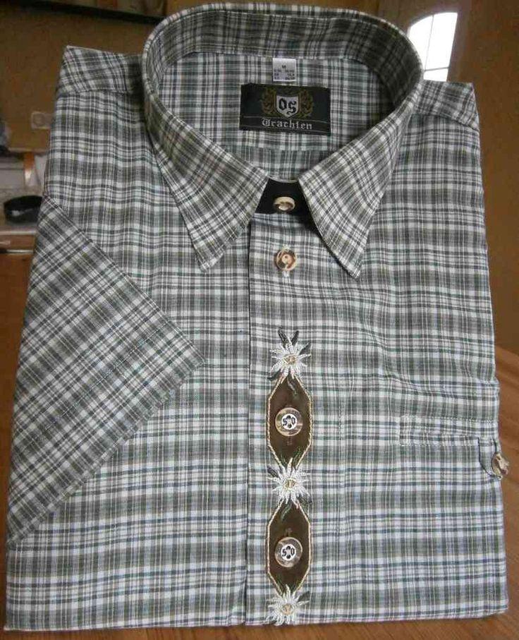 OS-Trachten HA-Hemd 7210, Herren-Trachtenmode, Trachtenhemden bei Landhaus-Boutique Bad Steben, #Trachtenmode Herren