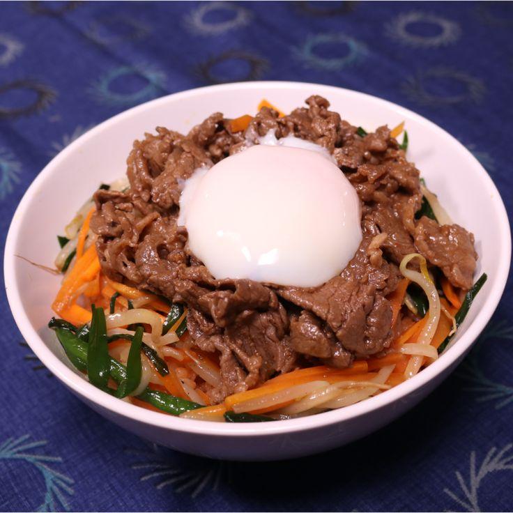 ビビンバ風でご飯が進む!カルビ肉ご飯 | 料理動画(レシピ動画)のkurashiru [クラシル]
