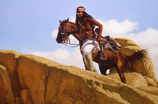 Entering The Stronghold by David Nordahl