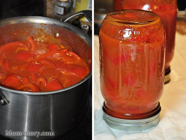 лечо в томатном соусе рецепт