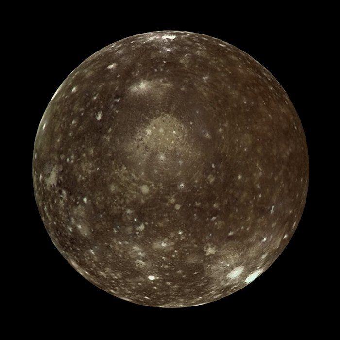 nasa callisto moon - photo #2