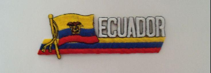 Bandera Ecuador Flag Flag Patch#Ecuador