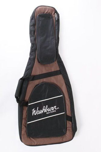 Washburn Acoustic Guitar Gig Bag by Washburn. $42.99. The Washburn GB70 Dreadnought Acoustic Guitar Gig Bag can be considered universal dreadnought acoustic guitar bag and for the price, it certainly has universal appeal. The soft-sided, padded gig bag fits many brand dreadnought sized acoustic guitars. This handsome bag features a screened Washburn logo and 2 oversized zip pockets on the outside for easy access to your gigging necessities. It also has two adjustable st...