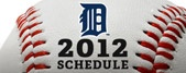 Tigers 2012 Schedule