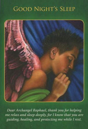 Is your mind is busy with worry stress? Archangel Raphael wants to remind you of the importance of a good night's sleep... (click image to keep reading)