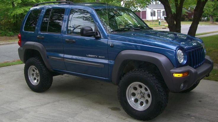 Bert: 2003 Sport 4x4 Atlantic Blue Pearl LIFTED/32s 2003 Jeep Liberty