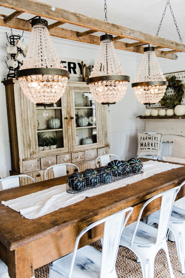 ... Dreaming Of Since Before We Even Knew About This House Came To Life  This Week. I Have Dreamed Of Having Three Chandeliers Hanging Above Our Dining  Room ...