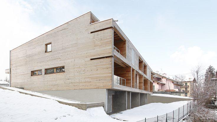 Residential Wood Building in Selvino / Camillo Botticini