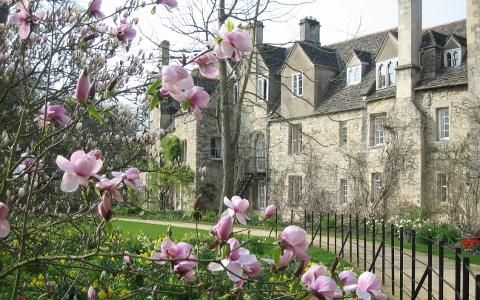 Worcester College, Oxford.