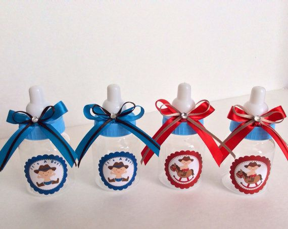 12 Little Cowboy baby shower cowboy baby by Marshmallowfavors