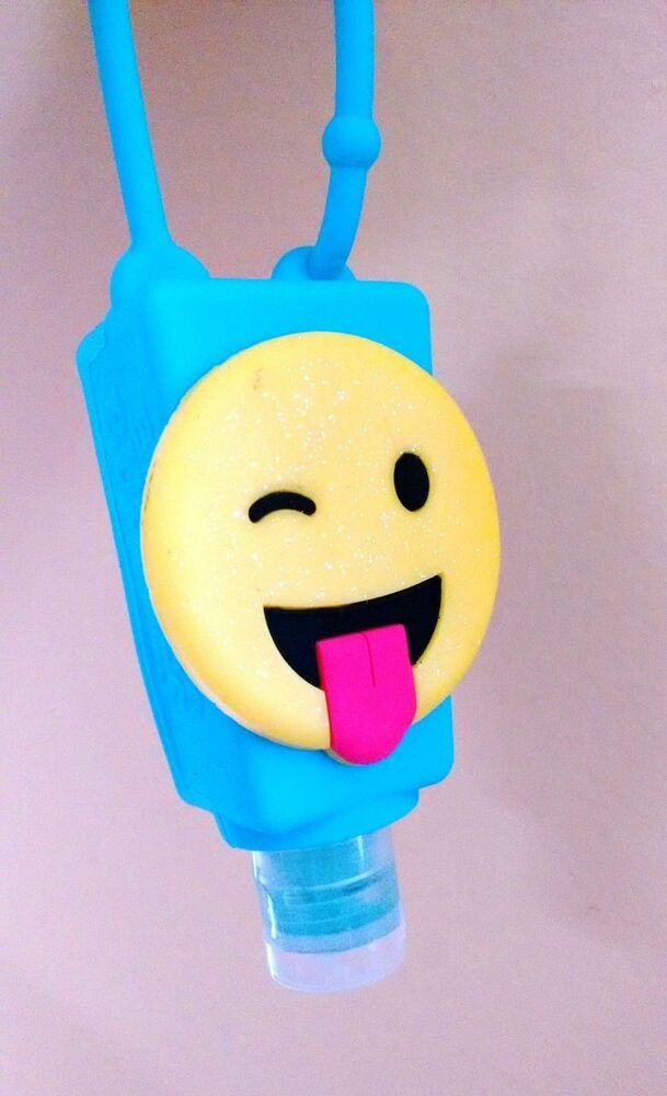 New Hand Sanitizer Travel Size With Emoji Backpack Refillable