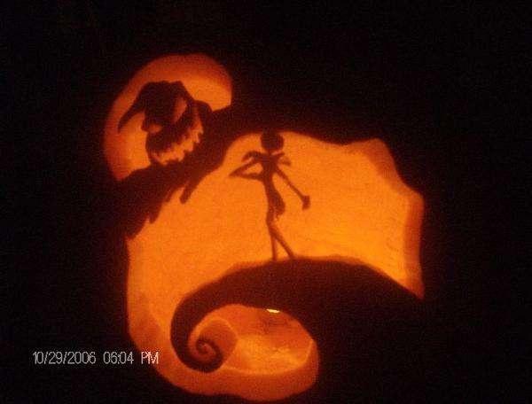 Pumpking carving design tips oogie boogie