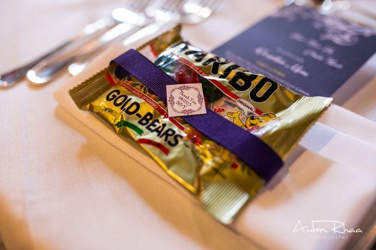 Gummy Bear for weeding favors || Wedding Favor Ideas