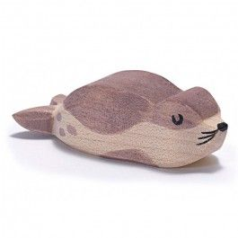 Baby Seal (Sea Lion, Small) from Ostheimer of Germany. Adorable! $10.95: Jaar Verjaardagscadeau, Wood Patterns, Sea Lions, Birthday Girl, Wooden Toys, Zoo Animals, Seal Sea, Ostheimer Baby, Baby Seal