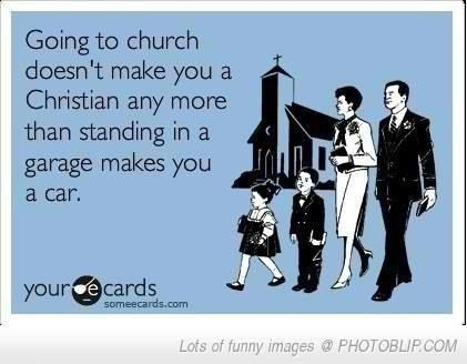Being a Christian is much more than going to church every now and again or even…