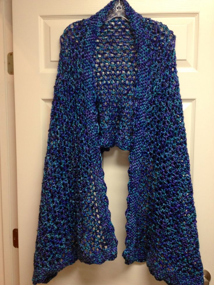 Prayer shawl Crochet Pinterest Shawl, Crochet prayer ...