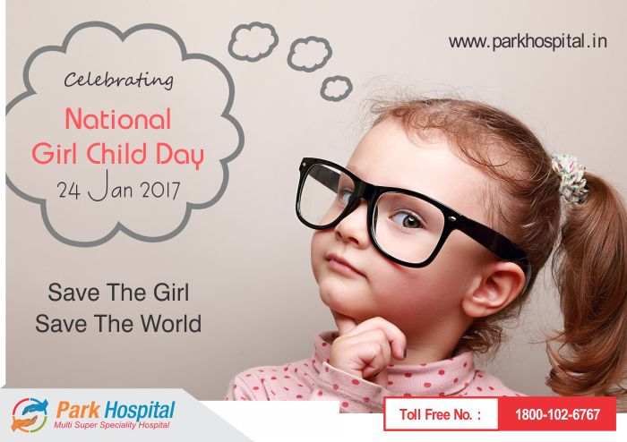 Celebrate #NationalGirlChildDay with #ParkHospital #BetiBachaoBetiPadhao #IndiaWithDaughters