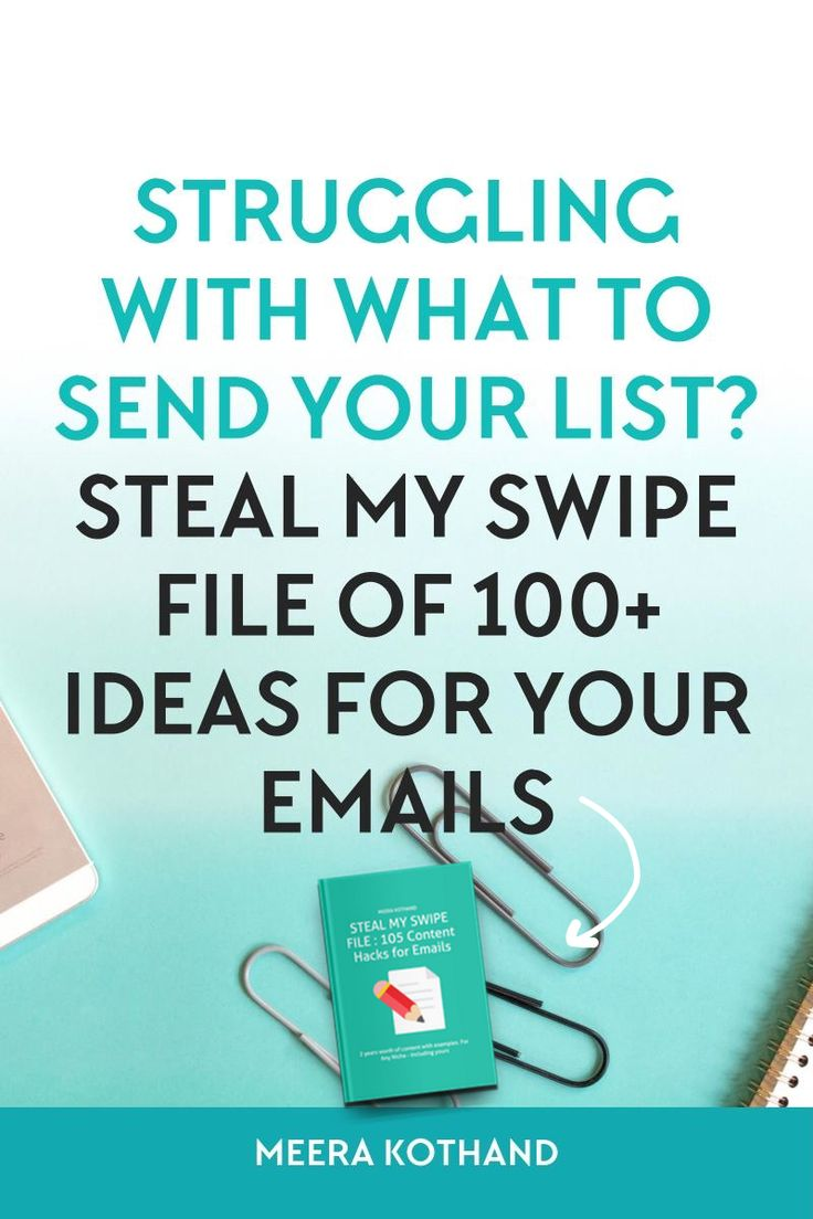 Wondering what to write or send your email list? Stumped for ideas? In this swipe file,I share content ideas I've been putting together for my own subscriber emails sorted into categories to easily fill a editorial calendar. Suitable for several niches - including yours!
