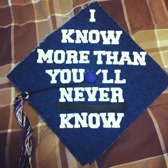 chemistry graduate caps | The Arrested Development Graduation Cap