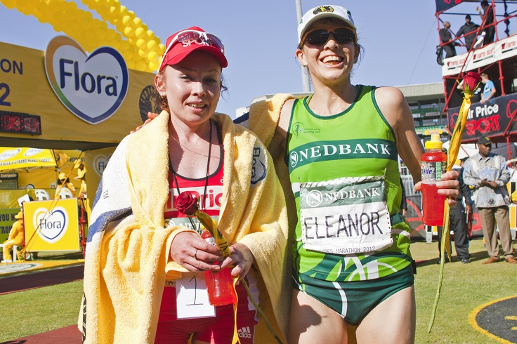 Comrades 2012 - First two ladies