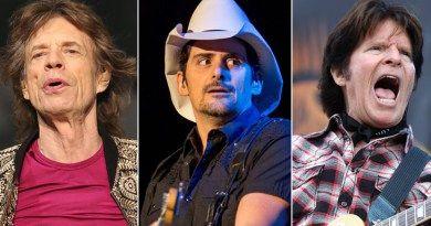 Escucha la colaboración de Mick Jagger y John Forgety para el nuevo disco del cantante de country Brad Paisley.